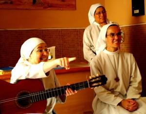 "Almost like the movie ""Sister Act"", a sing along with the nuns at Santa Clara"