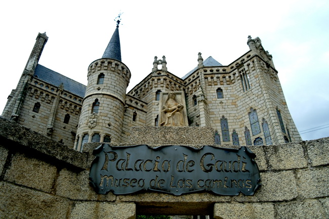 Palace de Gaudi in Astorga