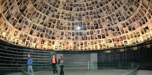 """The Hall of Names at Yad Vashem Museum. """"Remember only that I was innocent and, just like you, mortal on that day, I, too, had had a face marked by rage, by pity and joy, quite simply, a human face!""""  Benjamin Fondane, Exodus Murdered at Auschwitz, 1944. Photo courtesy of  yadvashem.org"""