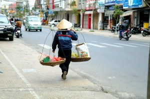 On the streets of Dalat