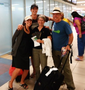 Mom and Dad arrived in Panama June 9th!!