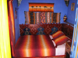 Our room in Chefchaouen, Morocco
