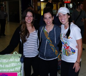 "Carly & Marissa arrive in Bangkok, Thailand. We did the ""Banana Pancake Route"" from Bangkok to Bali in our 7 weeks together!"