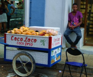 Cold coconut water for sale