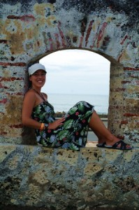Hanging out on the wall of the Old City