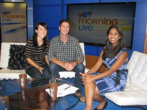 Get Up and Globe with CTV Morning Show Host, Molly Thomas
