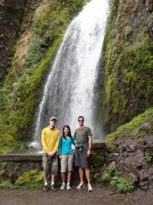 Keith, Shawna, and I